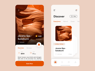 Indit - Travel Mobile App card holiday destination travel app traveling travel app ui ux app design mobile ui design uidesign home finance clean design mobile app ui mobile design minimalist mobile ui mobile app