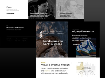 National ART gallery proposal / template / redesign