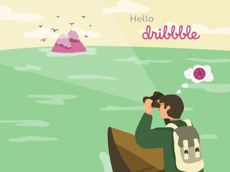 Hello Dribbble....