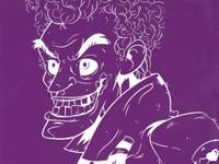 Joker Inverted Doodle