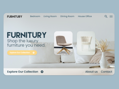 Furniture store webdesign website concept website design website uidaily uxui minimalist web ui  ux main page product design furniture website furniture store uidesign webdesign