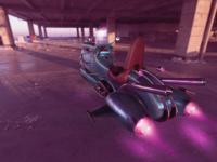 Retro futurism 3d