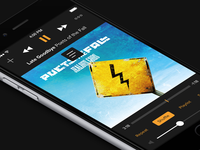 [Music App] Dark Player