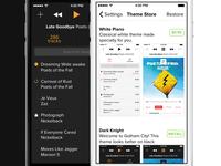 [Music App] Themes