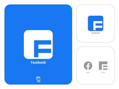 Facebook Logo Redesign relogostudio facebook design facebook concept facebook rebranding facebook rebrand facebook redesign facebookredesign facebook logo facebooklogo redesigning rebranding rebrand concept redesign concept logo concept logoconcept logo redesign logoredesign facebook redesign