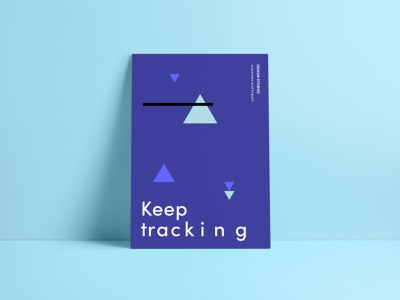 Keep Tracking data impact outcomes measurement stories design poster
