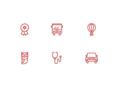 Icon set additions