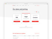 New pricing page!