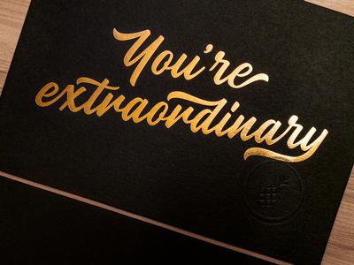 You're Extraordinary