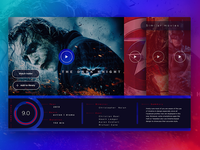 Online TV interface