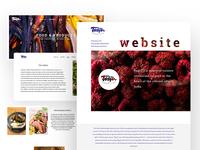 Bagri website design