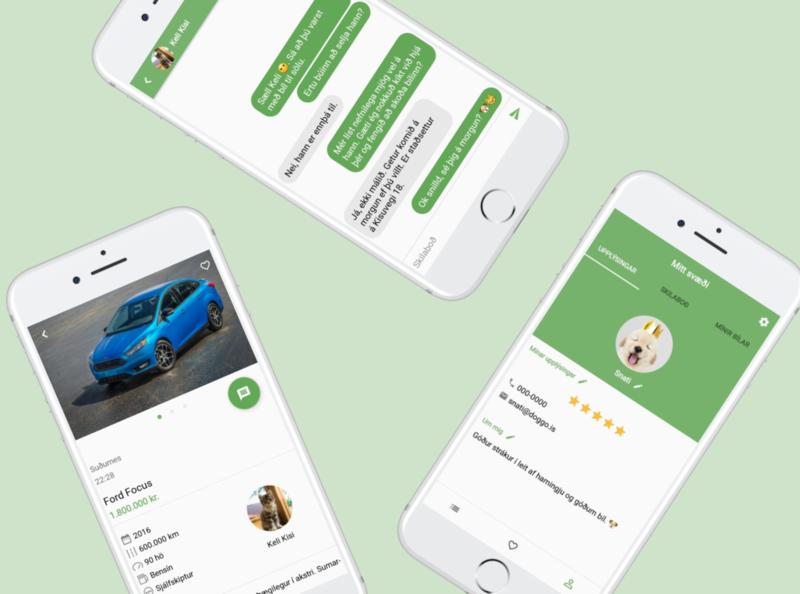 Vrúmm ios android ux ui app design app