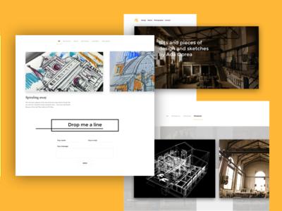 Archada portfolio photography sketches architecture