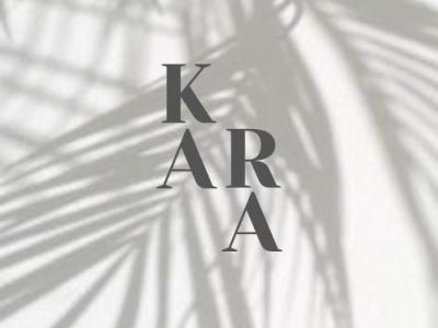 Kara logo logo design logo брендинг instagram banner instagram stories graphic design design branding concept branding brand design