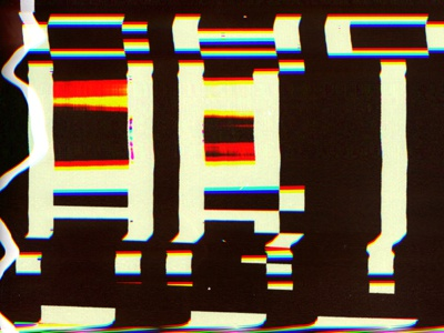 Scanner Glitch scan glitch abstract computers rgb video