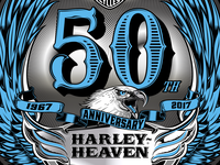 HARLEY-HEAVEN 50th ANNIVERSARY