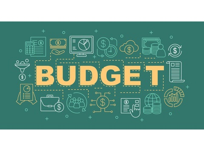 Budget word concepts banner