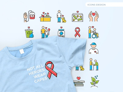 Medical icons design animal care volunteer recycle pills donor healthcare aids medicine medical icon pack icon set vector vector graphics icongrapher icongraphy web graphics icondesign icon illustration icon creation icon