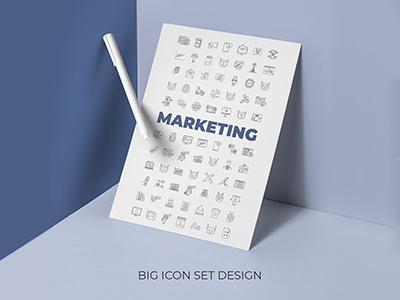 Marketing icons set design concept infographic design business commerce advert crm roi email marketing marketing icon pack icon set vector vector graphics icongrapher icongraphy web graphics icondesign icon illustration icon creation icon