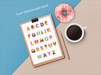 Font design concept