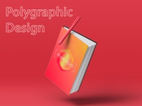 Cover polygraphic design