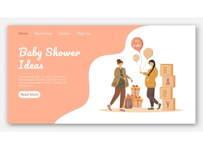 Do you know how to make the best baby shower? maternity shower happy party parenthood mother expectation banner event web graphics interface design concept pregnancy pregnant baby baby shower