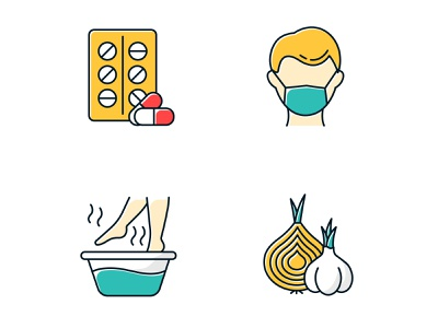 Don't forget to take care of your health! bath garlic onion sick disease ill healthcare health winter icon pack icon set vector vector graphics icongrapher icongraphy web graphics icondesign icon illustration icon creation icon