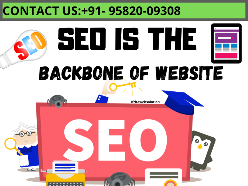 Best Seo Company In Faridabad By Ifrita Web Solution On Dribbble