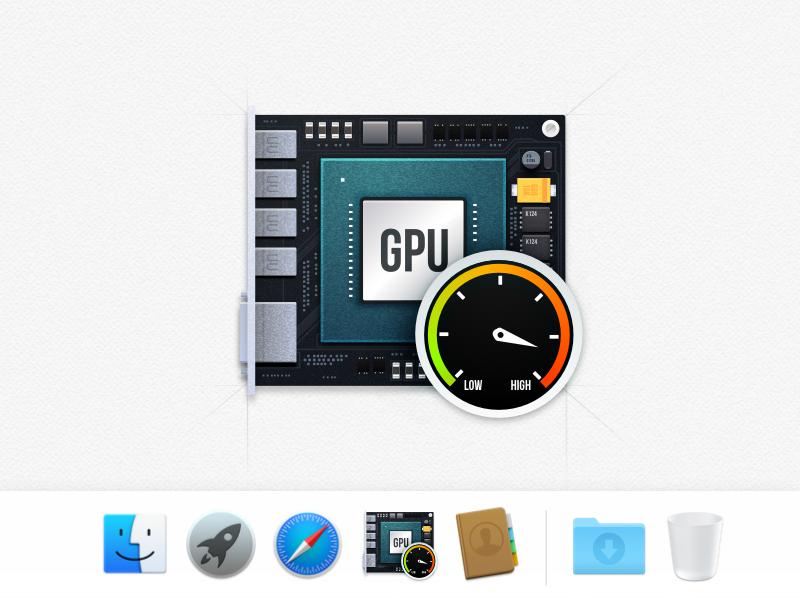 Gpu Benchmark Icon by Artyom Karagozyan on Dribbble