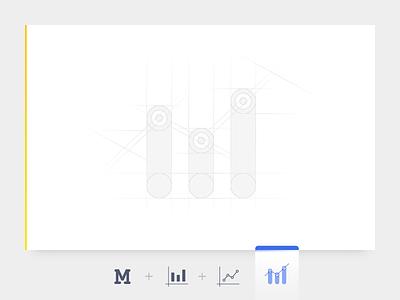 Logo Design for an Amazon Seller Tool dashboard vendor sellers software m app blue amazon seller mark icon amazon creative simple logotype logo letters identity font flat branding