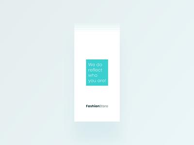 FashionStore - Start minimal ui interface order online creative ux colorful flat  design 2019 mobile app shopping app uikit design ios andorid e-commerce fashionstore