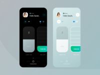HomeApp - dark & light mode