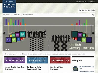 Symphony Advanced Media -  Slider Image website identity