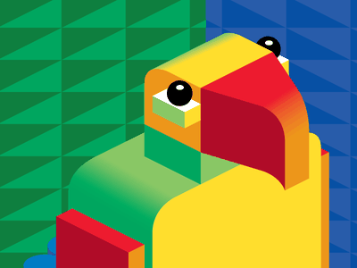 Parrot blockhead