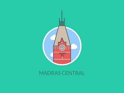 Madras Central, India icon chennai madras