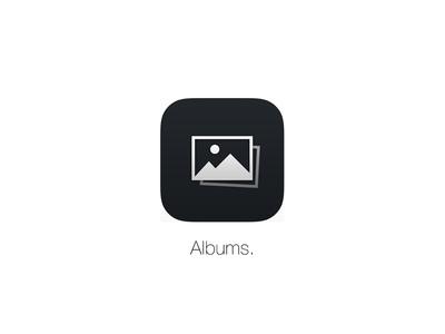 Albums. App Icon