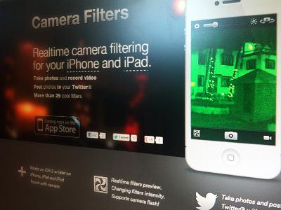 Camera Filters site