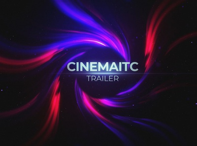 Cinematic Trailer ui design after effects motion graphics art direction zoom twirl tunnel text swirl grunge glow film dynamic cinematic