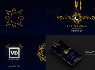 Eid Mubarak Ramadan Classic Opener islamic instagram ramadan slideshow particles florish eid mubarak eid adha eid celebration arabic logo 3d art direction after effects motion graphics