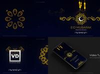 Eid Mubarak Ramadan Classic Opener islamic instagram ramadan slideshow particles florish eid mubarak eid adha eid celebration arabic logo 3d art direction after effects motion graphics