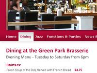 Green Park Brasserie Navigation