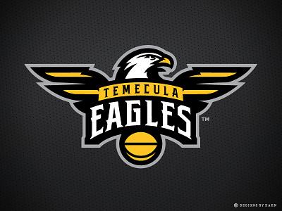 Temecula Eagles Logo the basketball league temecula logo tbl basketball logo sports logo logo eagles