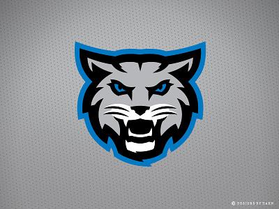 Kokomo BobKats Secondary Logo wildcats team logo sports logo logo bobcats bobkats