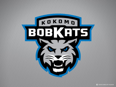 Kokomo BobKats Primary Logo wildcats sports logo team logo logo bobcats bobkats