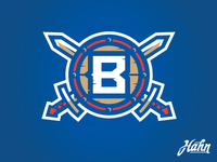 Boulter Vikings Secondary Logo