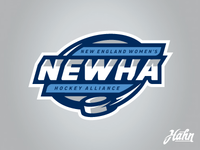 New England Women's Hockey Alliance Logo