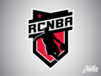 RCNBA Basketball Logo