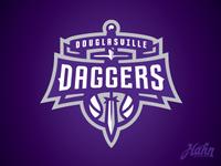 Douglasville Daggers Logo