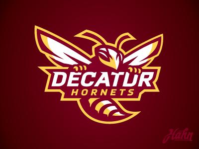 Decatur Hornets Logo sports rcnba hornets decatur logo basketball