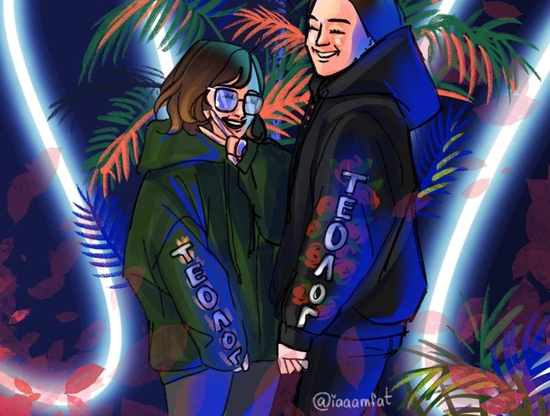 Friends illustration